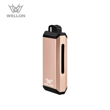 New VAPE style 2018 Wellon Ripple vape pen starter kit e cig kit skin traction kit with 2.0ml capacity