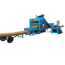 QT4-20 auto paver brick making machine hollow solid block brick machine surb stone hollow block machine