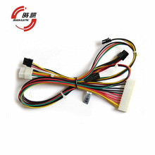 Custom automotive wiring harness with Molex/AMP connector