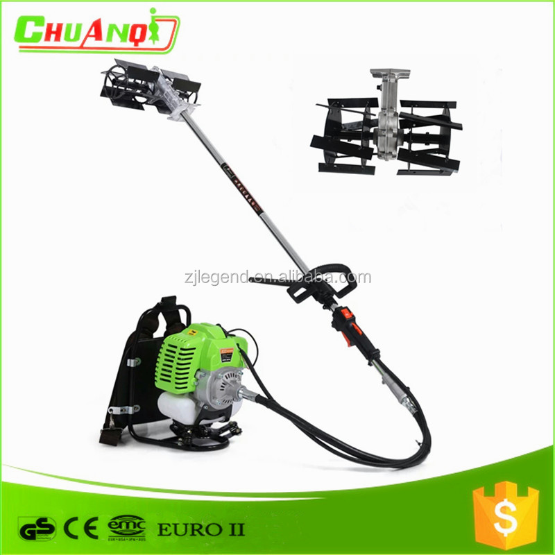 cg520 mini power weeder/the green machine weeder cultivator