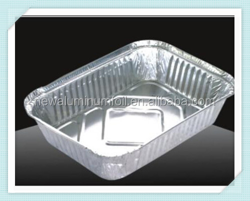 food grade bbq aluminum foil container for charcoal