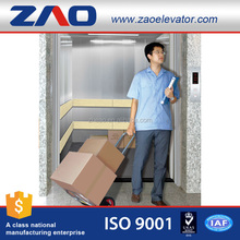 Electric Construction Machine Room-Less Small Goods Freight Used Cargo Elevator Hydraulic Lifts Price