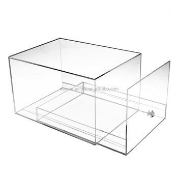 Acrylic Drawer Out Shoes Box Transparent Sneaker Display Case