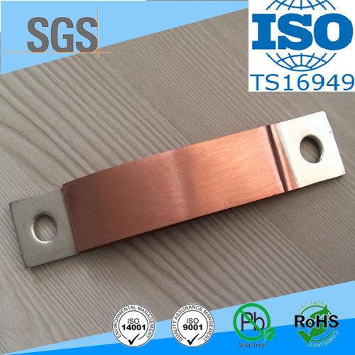 TS16949 customied design flexible copper busbar for aerospace industry