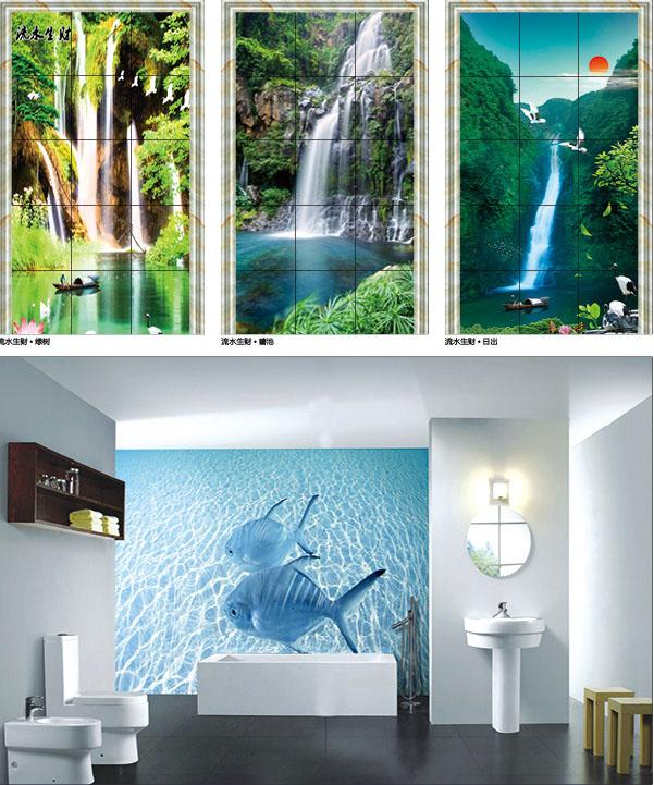 Foshan 3d floor art factory price inhabit 3d wall tiles for Epoxy boden 3d