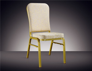 Stackable Restaurant Steel Banquet Chair Classical Aluminum banquet Chair