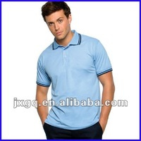 Factory direct price nanchang manufacturer wholesale men's new design brand polo t shirts