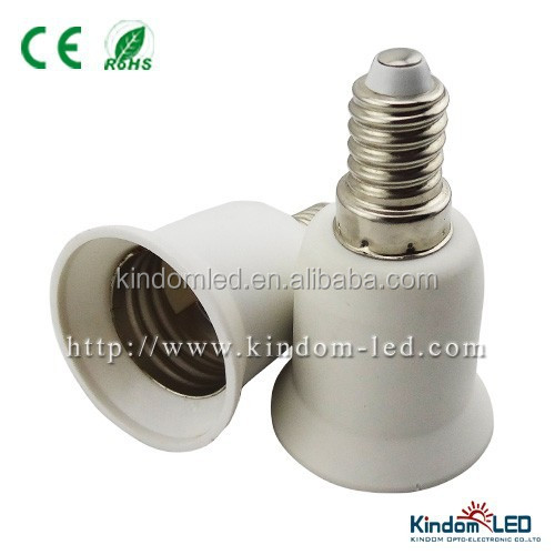 Lampholder adapter E14 convert E27 base from chinese factory
