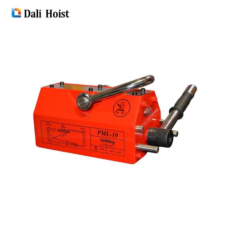 steel bar lifting magnet 600kg Steel Magnetic Lifter Heavy Duty Crane Hoist Lifting Magnet