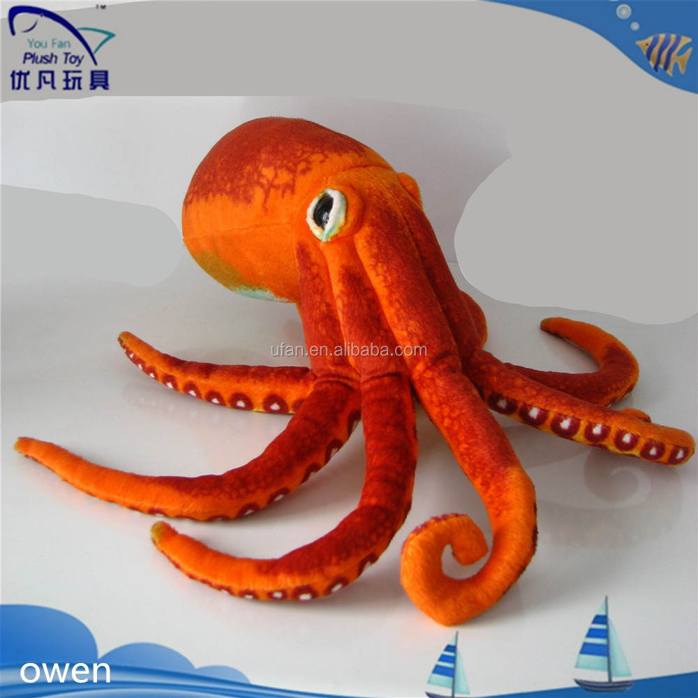 New plush toy 2017 soft toy stuffed octopus toys for kids