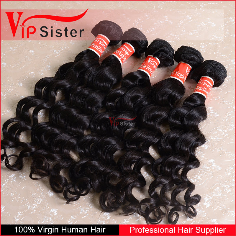More popular fashion style with good quality natura human virgin brazilian hair