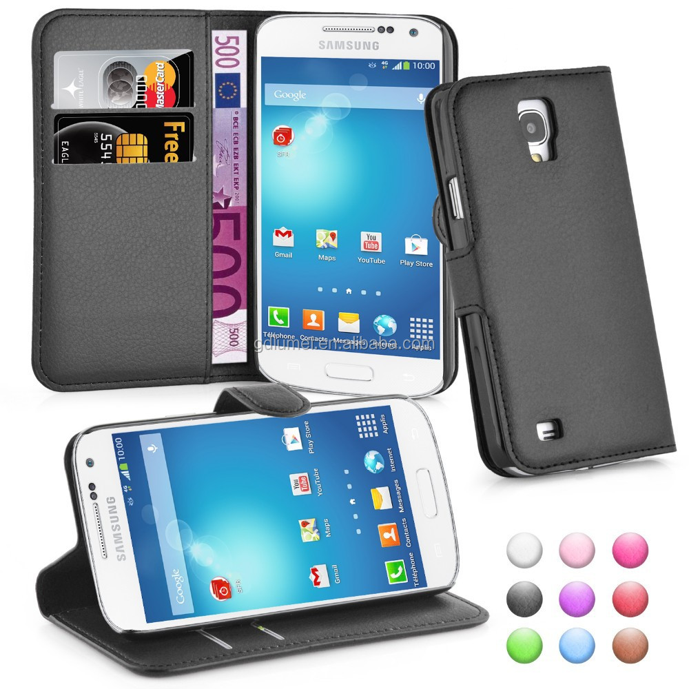 Flip Wallet PU Leather Case Cover for Samsung Galaxy S4 Active