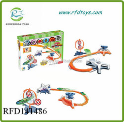 High speed spinning top railway moving toy spinning top toy