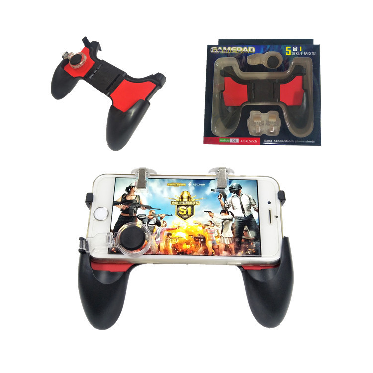 5 in 1 Mobile Game <strong>Controller</strong> for PUBG Mobile <strong>Controller</strong> Key Gaming Grip and Gaming Joysticks