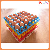 2015 new designs hot sell 30-cell plastic colorful egg tray/box/carton for automatic hatching machinery