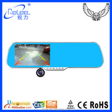 5'' TFT Screen GPS Tracking System Full HD 1080p Rearview Mirror Car Camera