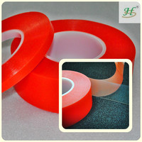 Acrylic adhesive PET double sided adhesive tape for lens