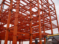 Production and delivery of high-rise and multi-storey steel structure buildings for workshop warehouse in Urumqi City