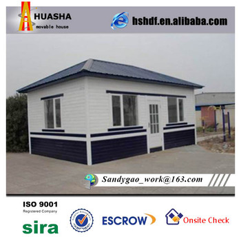 Small temporary prefab house mobile housing