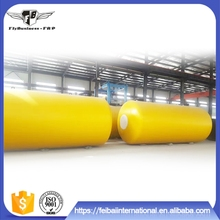 Convenient maintenance sf double sulfuric acid storage tank for sanatorium