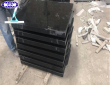 Antique absolute shanxi black granite thick tiles price for sale