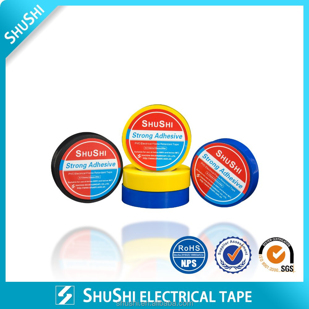 Pressure Sensitive China Supplier PVC Tape Insulatioin tape for European Market