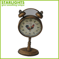 Metal Decorative Table Clock Desk Clock