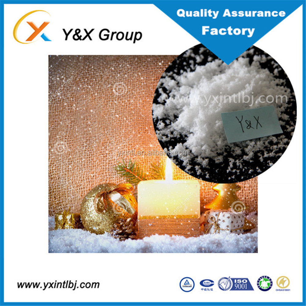 artificial magic expanding snow, instant fake snow ice powder