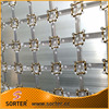 New design aluminum panels fabric curtain wall drapery