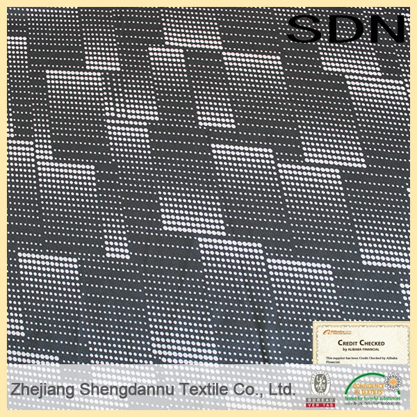 China supplier changshu cow point print fabric
