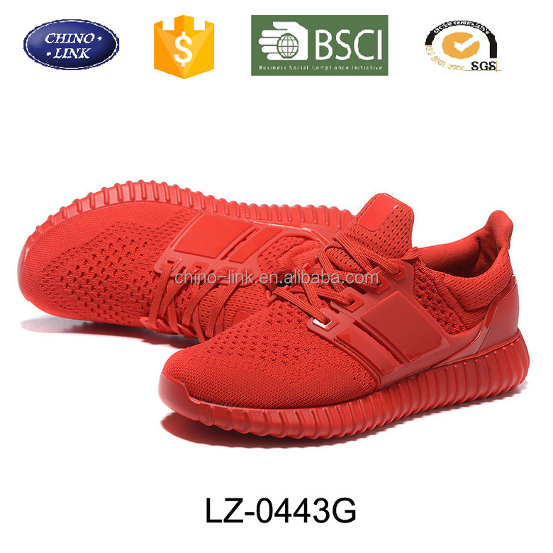 2017 New Style Widely Used MD sole Women Men Casual red sports power runnning flywoven lightweight Cheap athletic ultra shoes