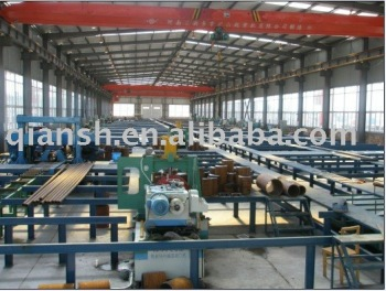 PIPE FABRICATION PRODUCTION LINE;PIPE SPOOL FABRICATION PRODUCTION LINE (FIXED TYPE)