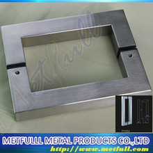 Tempered Glass Glass Sliding Door Handle Office Building Hardware