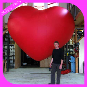 Inflatable replica model,giant inflatable heart model for hanging for party decoration