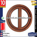 Top Quality Round Aluminum Clad Wood Window