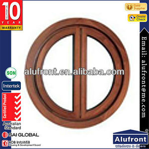 Top Quality Round window Aluminum Clad Wood Window