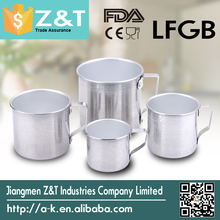 factory manufacture traditional polish aluminium cup aluminum drinking cups tea cups