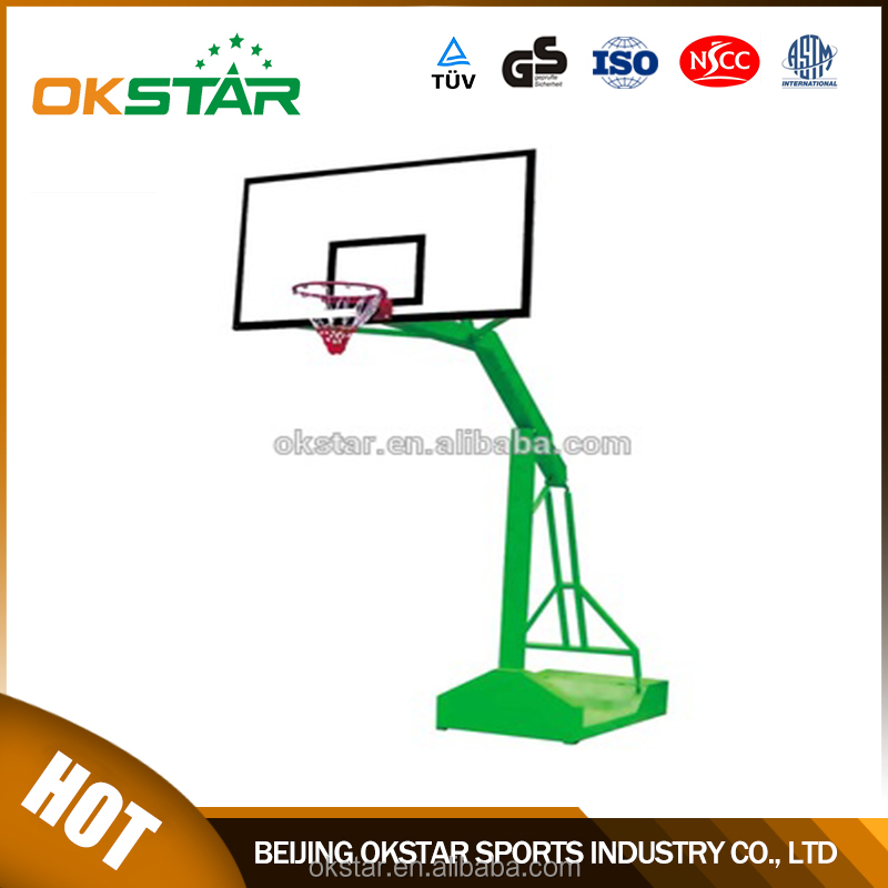 Sport equipment training outdoor basketball hoop stand