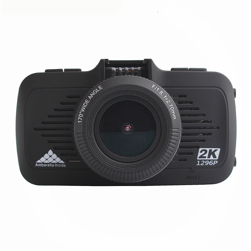 Hot Sell !!2.7 inch Ambarella A7 Full HD 1296P GPS Car DVR G-sensor Night Vision Car Dash Cam