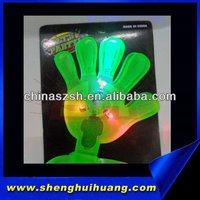 LED Flashing plastic hand shaped clapper for concert