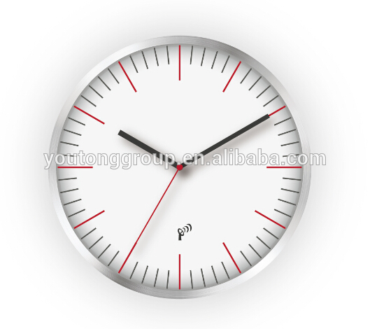 plastic Electronic wall clock designer india