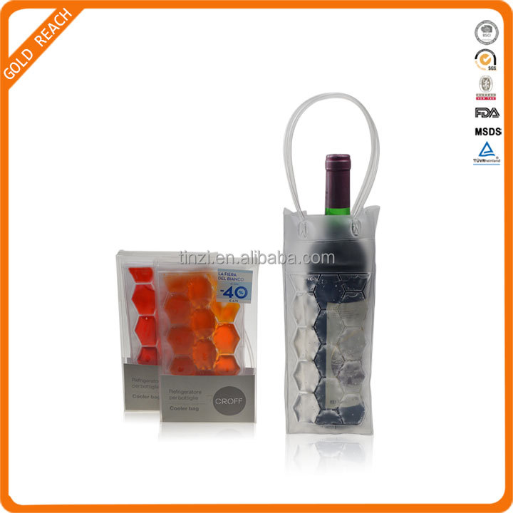 PVC Wine Bottle Carrier