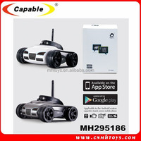 Newest I-Spy mini FPV car wifi Iphone control 777-270 rc tank toy manufacture with camera.