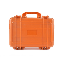 customized large abs plastic storage gun tool case box with handle