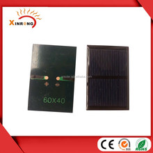 60X40MM 2V 140mA Poly Epoxy Mini Solar Panels