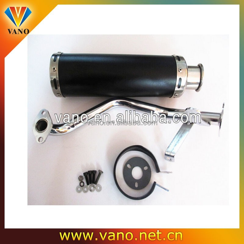 high quality from China 50 CC 150CC motorcycle muffler exhaust scooter muffler exhaust