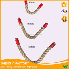 Chinese factory natural color Twisted jute yarn twine and rope