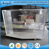 Fashionable best selling multipurpose customized design curved glass acrylic sheet