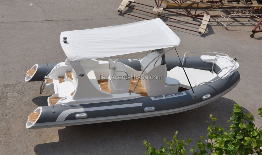 Liya 10 person speed boat rib water sports 5.8m inflatable boat sales