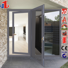 2017 Container House Design Aluminum Profile Glass Hand Carved Door Prices With Fly Net